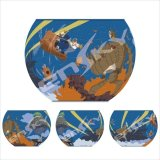 ボウル型80+4ピース:アートボウルジグソー 天空の城ラピュタ 飛行石を巡る冒険