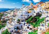 ◆希少品◆300ラージピースジグソーパズル:サントリーニ〜輝きのエーゲ海〜《廃番商品》