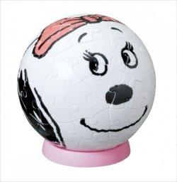 画像1: 3D球体60ピース:PEANUTS/スヌーピー ピーナッツ ベル