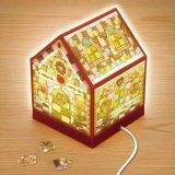 208ピース:パズルライト お菓子の家