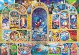 ★24%off★ステンドアートぎゅっとサイズ500ピースジグソーパズル:ディズニーオールキャラクタードリーム