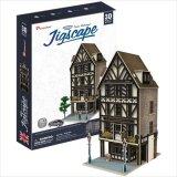 3Dパズル ロンドン-チューダー建築様式のレストラン
