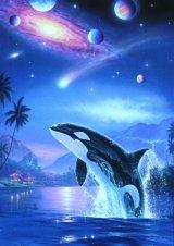 ◆希少品◆108ピースジグソーパズル:サイレント ジャーニー(CRラッセン)《廃番商品》