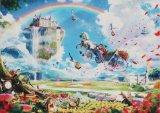 ★32%off★500ピースジグソーパズル:花の王国〜夢を馬車にのせて(楠田諭史)