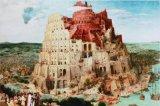 ★24%off★1000ピースジグソーパズル:バベルの塔(ブリューゲル)