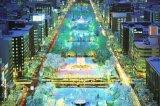 【引上品】■1000ピースジグソーパズル:きらめく札幌の夜-北海道《廃番商品》