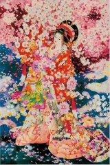■1000ピースジグソーパズル:桜の夢(春代)《廃番商品》