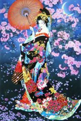 ■3000スモールピースジグソーパズル:桜(春代)