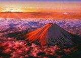 【引上品】◆希少品◆3000スモールピースジグソーパズル:赤富士《廃番商品》