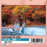★25%off★300ピースジグソーパズル:紅葉の吹割の滝-群馬