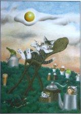 ◆希少品◆300スモールピースジグソーパズル:目玉焼きの焼き具合(わちふぃーるど)《廃番商品》