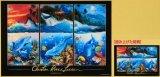 ◆希少品◆450スモールピースジグソーパズル:シャングリラ(CRラッセン)/間違い探しパズル《廃番商品》