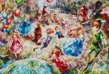 ◆希少品◆450スモールピースジグソーパズル:街のおとぎばなし(おにねこ)《廃番商品》