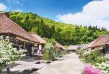 ■300ピースジグソーパズル:花咲く大内宿-福島《廃番商品》
