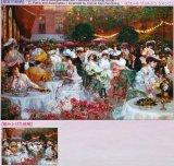 ◆希少品◆1000ピースジグソーパズル:ホテルリッツの夕食(ピエールジョルジュ)《廃番商品》
