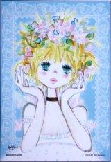 ◆希少品◆プチパズル99ピース:フラワーティアラ(水森亜土)《廃番商品》