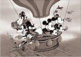 ★3割引!!★108ピースジグソーパズル:ミッキーマウス 気球に乗って