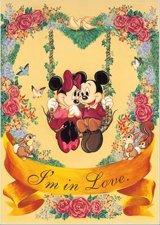 ■108ピースジグソーパズル:アイム・イン・ラヴ(ミッキー&ミニー)《廃番商品》