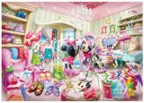 ■315スモールピースジグソーパズル:ミニーのファッションルーム《廃番商品》
