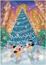 ◆希少品◆ステンドアートぎゅっとサイズ500ピースジグソーパズル:ロマンス オン アイス《廃番商品》