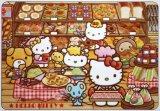 板パズル80ピース:ハローキティのたのしいパン屋さん