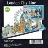 3Dパズル ロンドン シティーライン