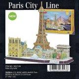 3Dパズル パリ シティーライン