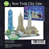 3Dパズル ニューヨーク シティーライン