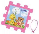 ■パネル付き25ピースクミパネジグソーパズル:スージー・ズー わたぼうし《廃番商品》
