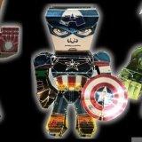 メタリックナノパズル キャプテン・アメリカ
