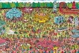 ★3割引!!★150ラージピースジグソーパズル:Where's Wally? 休日のゆうえんち