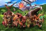 ★32%off★150ラージピースジグソーパズル:大恐竜ワールド