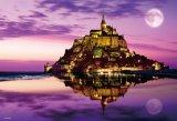 ■1000マイクロピースジグソーパズル:モン・サン・ミシェル 〜海に浮かぶ修道院〜