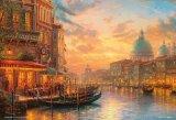 ■1000マイクロピースジグソーパズル:黄昏のベネツィアンカフェ(トーマスキンケード)