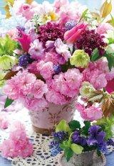 ★27%off★1000マイクロピースジグソーパズル:想いを伝える春の花束