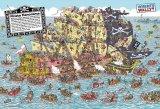 ★27%off★1000マイクロピースジグソーパズル:Where's Wally?海賊船パニック