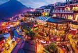 ★32%off★1000マイクロピースジグソーパズル:灯りともる九份(台湾)