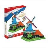 3Dパズル オランダの風車(世界遺産:オランダ)《廃番商品》