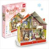 3Dパズル Alice's Home アリスのクリスマスハウス