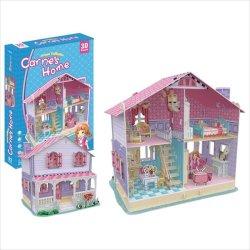 画像1: 3Dパズル ドールハウス・キャリーズホーム