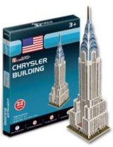 3Dパズル(ミニ) クライスラービルディング(アメリカ)