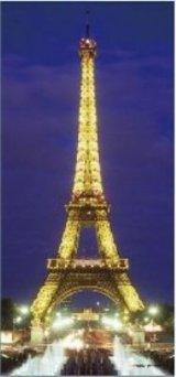 ◆希少品◆300スモールピースジグソーパズル:エッフェル塔(フランス)《廃番商品》