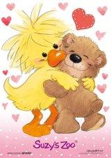 【引上品】■300マイクロピースジグソーパズル:I Love You(スージーズー)《廃番商品》