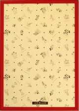 ディズニー専用木製パネル1000ピース用レッド(51×73.5cm/10-T)