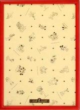 【取寄商品】ディズニー専用木製パネル500ピース用レッド(35×49cm/5-Tア)
